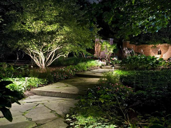 Heinz nurseries landscaping lighting services expert lighting outdoor lighting is the finishing touch to your landscape dont let the investment you have made in beautifying the exterior of your home end when the sun aloadofball